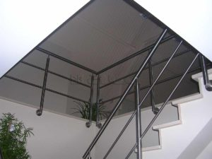 Inox balustrades