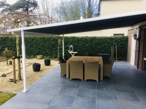 Oprolbare daken - Plaza viva