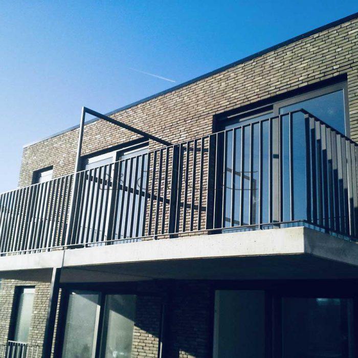 Staal en aluminium balustrade-6